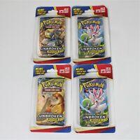 Pokemon Sun & Moon Unbroken Bonds Booster Pack, Lot of 4