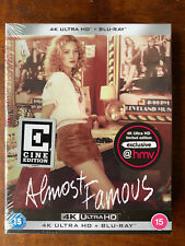 Almost Famous Cine Edition 4k HMV UK Theatrical Ultra HD Blu-ray OOP