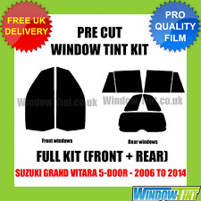 SUZUKI GRAND VITARA 5-DOOR 2006-2014 FULL PRE CUT WINDOW TINT