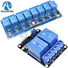 5V 2/8 Channel Relay Module With optocoupler For PIC AVR DSP ARM Arduino
