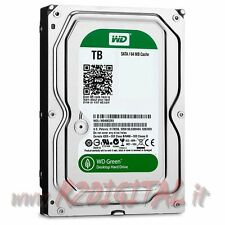 "HARD DISK WESTERN DIGITAL 2Tb WD BLUE GREEN 3,5"" 2000Gb DRIVE SATA3 64Mb NAS"