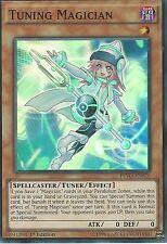 YU-GI-OH CARD: TUNING MAGICIAN - SUPER RARE - PEVO-EN020 - 1ST EDITION