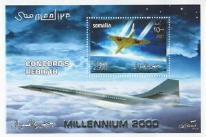 CONCORD'S REBIRTH MILLENIUM 2000 SOMALIA MNH STAMP SHEETLET