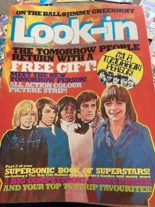 Look-in Magazine Edition No.6 W/E 31/01/1976