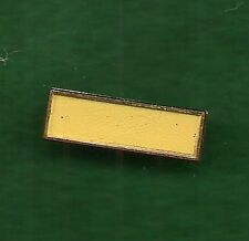 "VINTAGE GIRL SCOUT PIN - 3/4"" SERVICE BAR - YELLOW - PROGRAM AID"