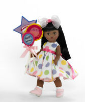"Madame Alexander BALLOONS FOR YOUR BIRTHDAY 8"" African American Doll 64492 - NEW"