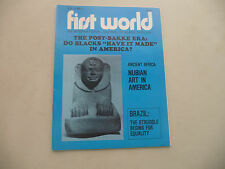 FIRST WORLD JOURNAL BLACK THOUGHT DO BLACKS HAVE IT MADE IN AMERICA BRAZIL 1979