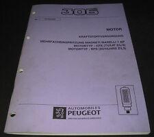 Werkstatthandbuch Peugeot 306 Motor Mehrfacheinspritzung Magneti Marelli TU3JP Z