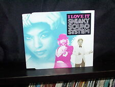 SNEAKY SOUND SYSTEM I LOVE IT - RARE AUSTRALIAN CD SINGLE NM