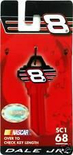 NASCAR #8 DALE EARNHARDT JR BLANK KEY SC1 68