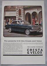 1964 Vauxhall Cresta & Velox Original advert