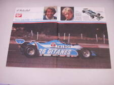 POSTER LIGIER Laffite - Jabouille 1981
