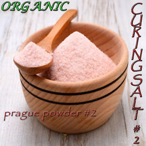 100% ORGANIC CURING SALT #2 Prague Pink Meat Pork Ham Beef Jerky  FAST FREE POST