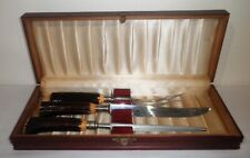 Englishtown Meat Carving Set Knife Fork & Steel (Stainless) Preowned In Box!