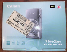 Canon PowerShot ELPH 140 IS Digital Camera | Camera, Charger, Pouch, and Battery