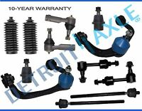 12pc Control Arm Ball Joint Sway Bar Tie Rod Kit for Ford F-150 Trucks - 2WD