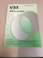 Makino V33 Professional 5 Maintenance Manual