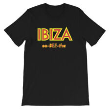"Ibiza ""ee-bee-tha"" T-Shirt Techno EDM House Music Party Travel Inspired T-Shirt"