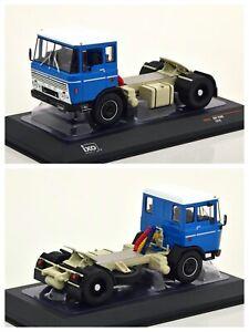 1/43 Ixo Camion Semi-Remorque DAF 2600 1970 Bleu Neuf