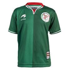 Camiseta de fútbol verde para niños