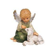 Engel mit Lämmchen, Goebel Engel grün, 10 cm, 41-223-01-7