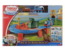 Thomas & Friends Motorized Railway - King of the Railway Deluxe Set Trackmaster