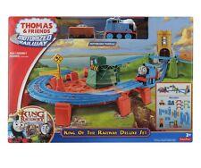 Thomas y amigos ferroviarios Motorizada-Rey del ferrocarril Deluxe Set Trackmaster