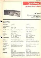Nordmende Service Manual für Skandia 9.129A