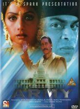 ARMY - SPARK BOLLYWOOD DVD - Shahrukh Khan, Sridevi, Danny, Ronit Roy, Mohnish B