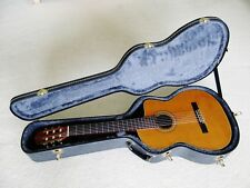 1990 Made in Japan Takamine classic guitar with cedar top and hard case