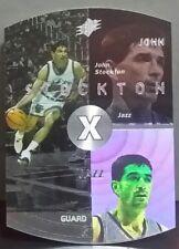 John Stockton card Silver 97-98 SPx #45
