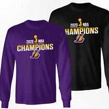 Los Angeles Lakers 2020 NBA Champions Shirt - Long Sleeve T-Shirt - S-3XL