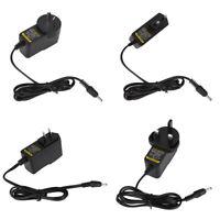 AC DC Power Supply Adapter 5V 9V 12V 1A 2A 3.5mm*1.35mm 5.5mm*2.5mm AU UK US EU