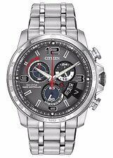 Citizen Eco-Drive Men's BY0100-51H A-T Chronograph Alarm Bracelet 44mm Watch