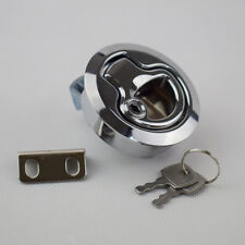US SALE 1PC Flush Pull Hatch Latch Lock PA-6 Insert with Keys for Boat Marine