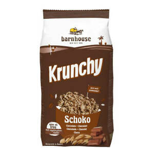 Barnhouse - Krunchy Schoko - 750 g - 6er Pack