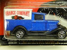 Majorette FORD MODEL A Panel Van Blue & Black Orange Company # 201 1/60 Sc.*