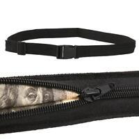 Travel Secret Waist Money Belt Protect Hidden Security Safe Pouch Wallet Pocket
