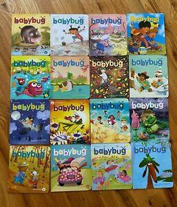 Lot 16 BABYBUG MAGAZINES Books Baby or Toddlers By Ladybug & Cricket NO DUPS