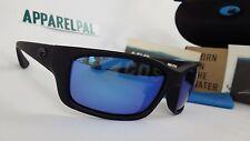 New Costa Del Mar Jose Polarized Sunglasses 400G Glass Blackout/Blue Mir Fishing