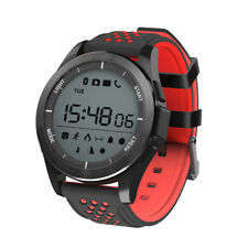 Montre Connectée Rouge Smartwatch Bracelet étanche Bluetooth Android Apple Sport