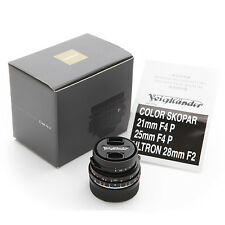 New Voigtlander Color-Skopar 21mm f/4 P VM lens for Leica M10 M240 M9 M7 M6 MP