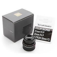 New Voigtlander Color-Skopar 21mm f/4 P VM lens for Leica M240 M9 M7 M6 MP ME