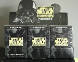 Star Wars CCG Premiere Limited Edition - Starter Deck  - NEW SEALED SWCCG