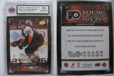 2008-09 Upper Deck #235 Claude Giroux 01/10 grade 10 high glossy RC UD HG Rookie