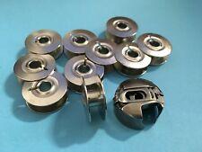 Spulenkapsel +10 Spulen für Pfaff und  Gritzner Nähmaschinen mit Umlaufgreifer