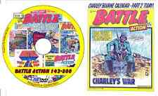 Battle Action 142-300 on DVD includes viewing software British Comics 159 issues