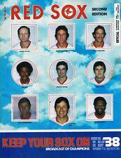 Boston Red Sox Official Scorebook Magazine - 1977, Second Edition