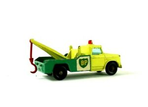 Vintage Lesney Matchbox  No 13 Dodge BP Tow Truck Wrecker EUC