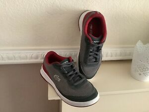 Boys Lacoste Trainers Size Uk 13 Vgc